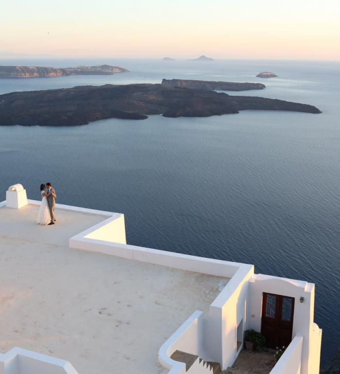 M&D Destination Wedding Santorini